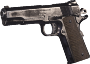 M1911 .45 Nickel Plated MWR