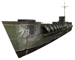 Landing Craft Infantry WaW