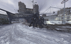 Hornet Two One dropping troops Gulag MW2