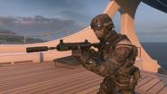 M27 Suppressor third person BOII