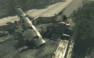 Downed C-130 Goalpost MW3
