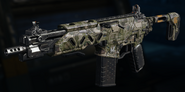 Peacekeeper MK2 Gunsmith Model Jungle Tech Camouflage BO3