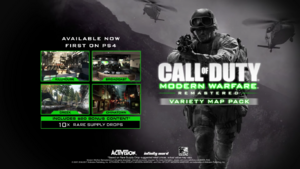 Variety Map Pack Promo MWR