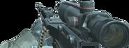 M249 SAW ACOG Scope CoD4