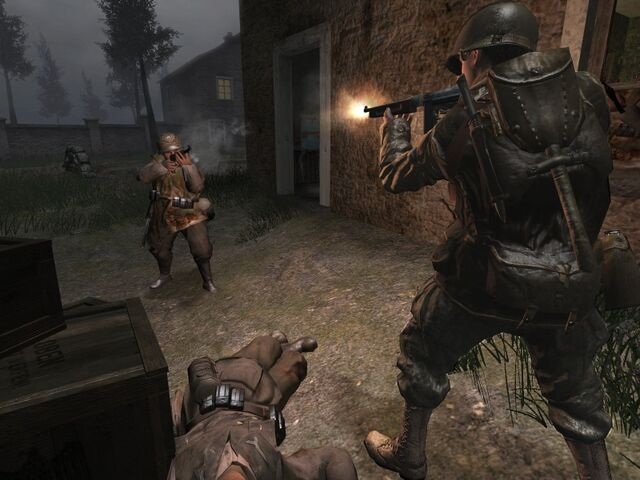 File:Call of Duty-U.S. Army 2nd Ranger Battalion shooting German troops.jpg