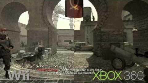 Call Of Duty Modern Warfare Comparison Wii Vs 360