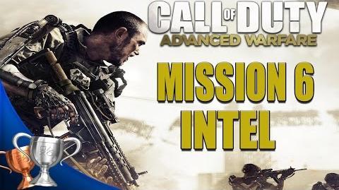 Call of Duty Advanced Warfare - All Intel Locations - Mission 6