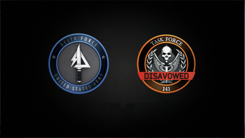 Task force 141 disavowed logo