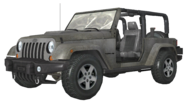 Jeep Wrangler White model MW3