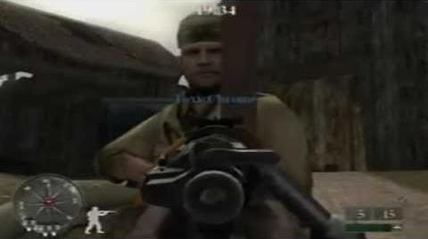 Call of Duty 2 Big Red One Online Multiplayer Match - Town Sqaure (Domination)