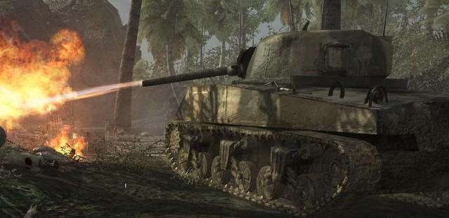 File:M4 Sherman flamethrower WaW.png