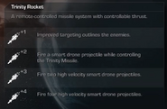 Trinity Rocket Menu Select Extinction CoDG