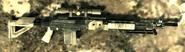 M14 EBR 3rd Person MW2 Model MW3