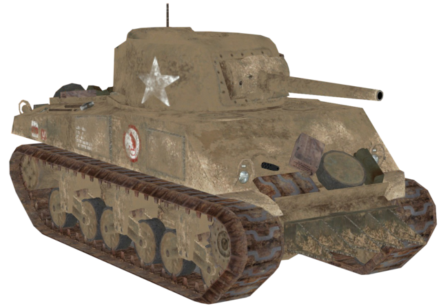 File:M4 Sherman desert model CoD2.png