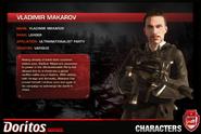 Vladimir Makarov Combat Card