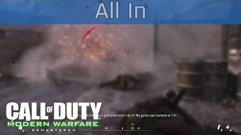 Call of Duty 4 Modern Warfare Remastered - All In Walkthrough HD 1080P 60FPS
