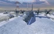 C-130 Hercules taking off MW2
