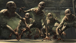 Crawler Zombie idling BO