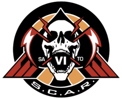 Space Combat Air Recon logo IW