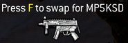 MP5K MP5KSD pick-up icon MW2