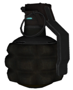 Fragmentation Grenade model BOII