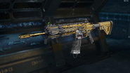 ICR-1 Gunsmith Model Gold Camouflage BO3