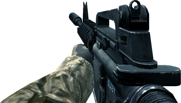 File:M4A1 Silencer CoD4.png