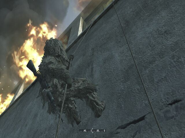 File:Macmillian rappelling off assasination spot One Shot One Kill CoD4.jpg