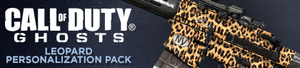 Leopard Personalization Pack Header CoDG