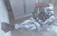 Ultranationalist sleeping Cliffhanger MW2