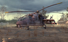 Parked Hind in Wasteland