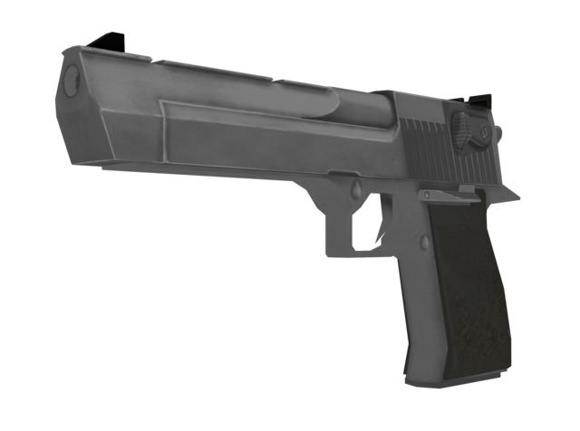 File:Desert Eagle The Coup model CoD4.png