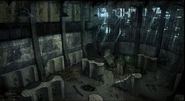 TAS Concept Art Shower Room The Gulag MW2