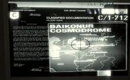 Baikonur Cosmodrome classified document BO