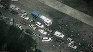 Civilian casualties on highway Iron Lady MW3