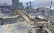 Bigfoot laying the bridge Team Player MW2