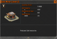 Gold Miner Level 2 Stats CoDH