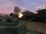 Call of Duty Russian MG Gunner