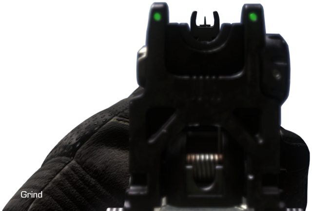 File:Honey Badger Iron Sights CODG.png