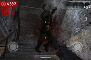 MG42 killing zombie CODZ