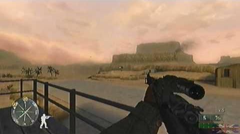 Call of Duty 2 Big Red One - Tunisia, Mission 1 3 3