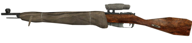 File:Mosin-Nagant Scoped Third Person CoD2.png