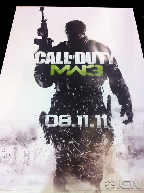 MW3 poster