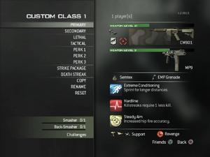 Create-a-Class MW3