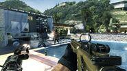Pool Firefight Getaway MW3