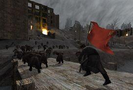 Stalingrad Soviets running CoD1