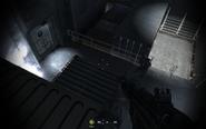 Shortcut to second hall atrium Crew Expendable CoD4