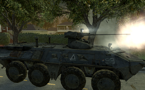 Side view BTR-80 Wolverines! MW2
