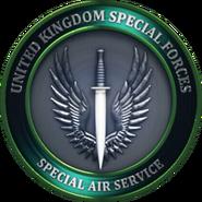 SAS Emblem Mind the Gap MW3