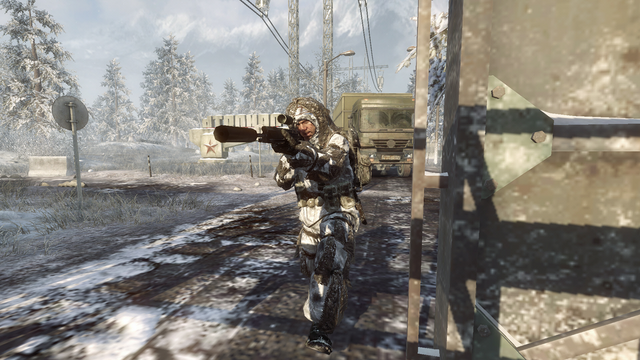 File:AdvancedRookie Grid ghillie sniper aiming ACOG suppressed L96A1.png